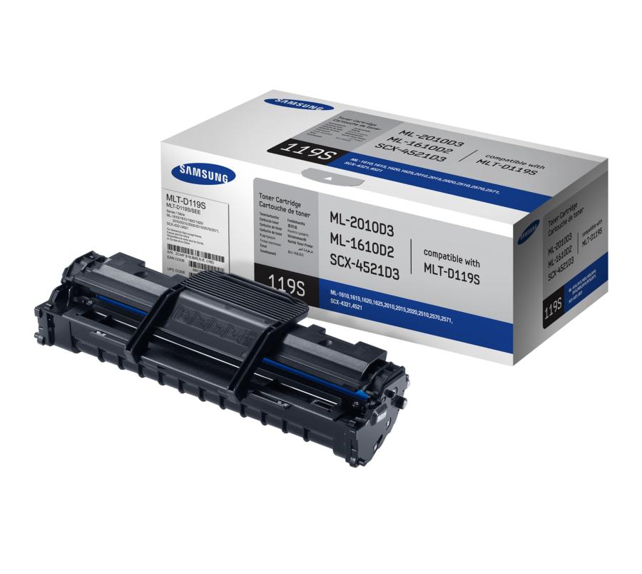 Samsung Mono Toner Cartridge - MLT-D119S